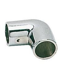 Coude laiton chromé 90° - 22 mm