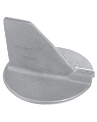 Anode queue carpe 90/200 HP et au-delà pli droit aluminium
