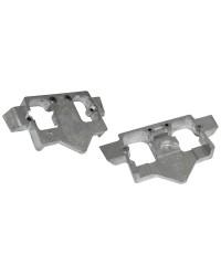 Anode plaque intra-hors-bord 6UO-45251-00 zinc