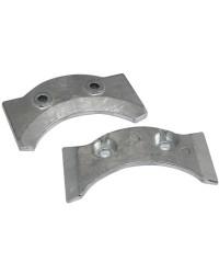 Anode plaque intra-hors-bord 6U4-45373-00 zinc