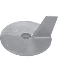 Anode queue carpe Mariner/Yamaha 20/50 HP et Selva - aluminium