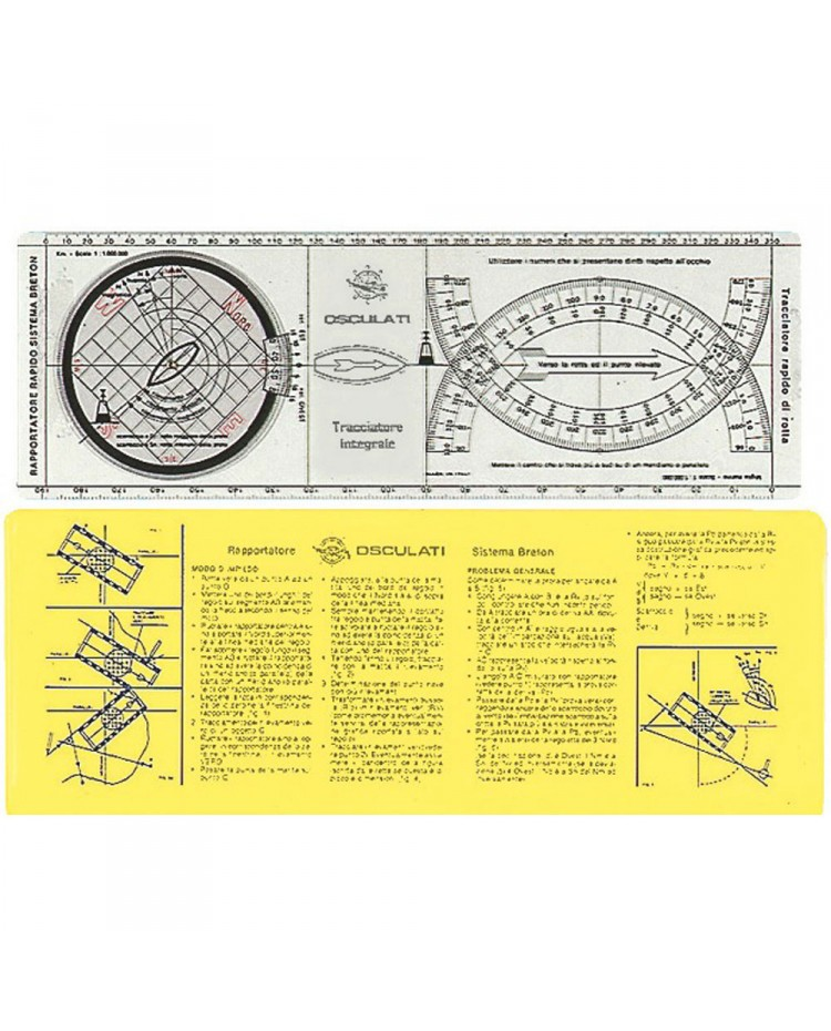 Règle de navigation traceur intégral - 350 mm -
