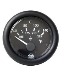 Indicateur de température d'huile 24V - noir