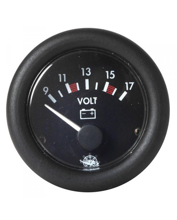 Voltmètre 1016V - noir 10/16V - noir