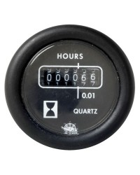 Horamètre 12V - noir
