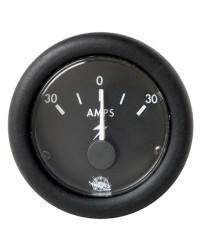 Ampèremètre 60-0-60A - noir