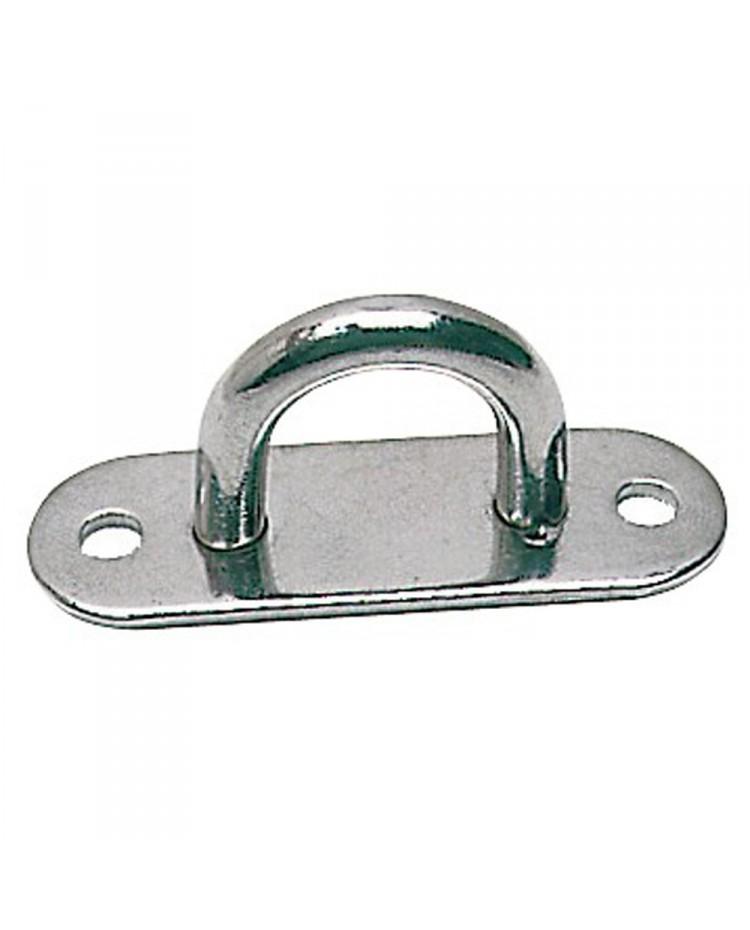 Pontet platine inox 45 x 15 mm - ø 5 mm