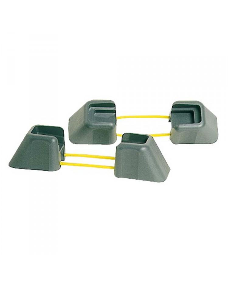 Protections pour bittes taquets 4 protections pour 2 bittes