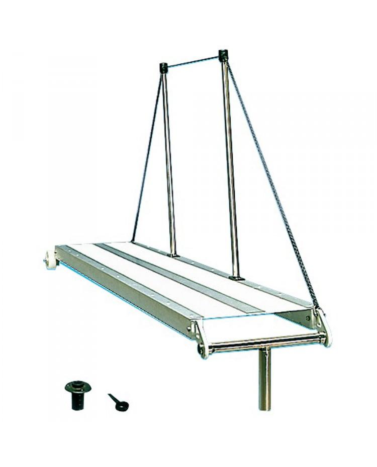 Passerelle Aluminium fixe 200 cm