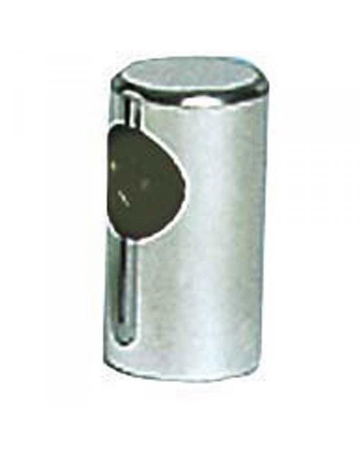 Main-courante plot inox ø22mm - élément terminal