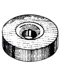 Anode rondelle Ø24x7 mm zinc