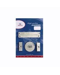 Kit anodes aluminium 75/80/90/100/115 EFI