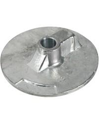 Anode queue carpe plate Bravo aluminium