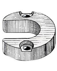 Anode pied Mercruiser/Alpha magnésium