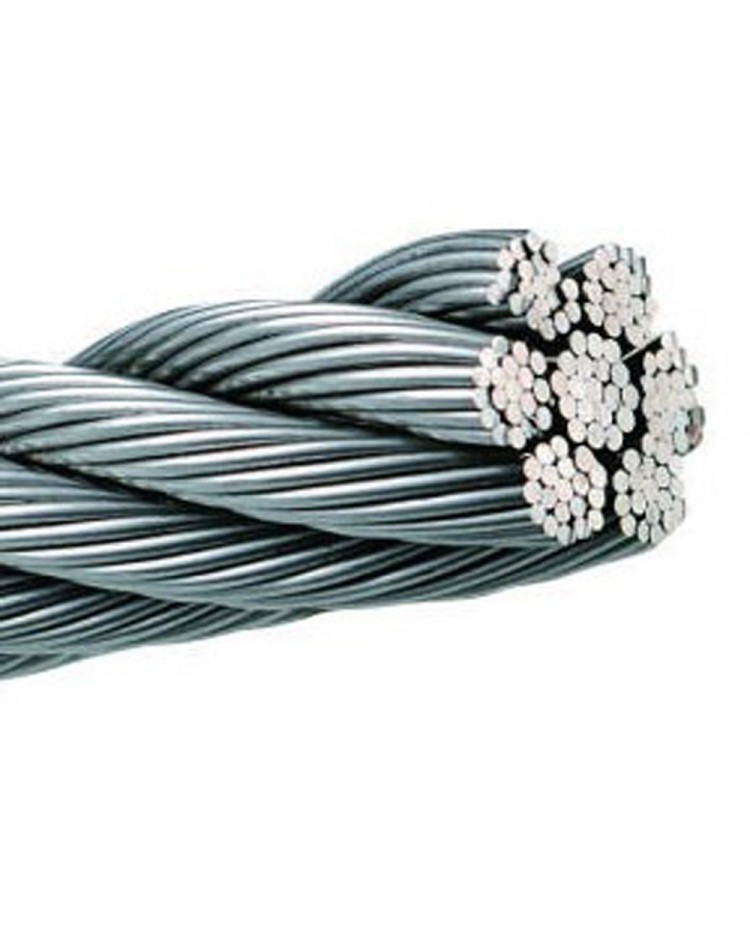 Câble 133 fils - inox - ø5 mm