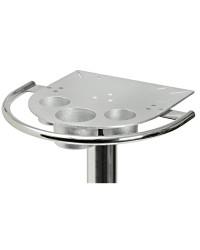 Plaque supérieure pour table rabattable