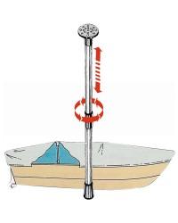 Support télescopique pour bâches 90 à 160cm