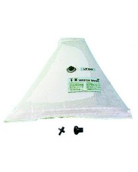 Réservoir d'eau douce souple triangulaire 55 litres