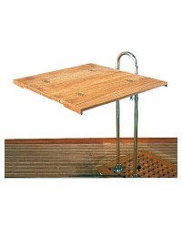 Plan de table teck 70 x 80 cm