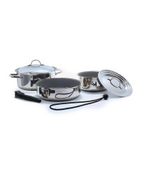 Batterie de cuisine - 7 pièces - céramique