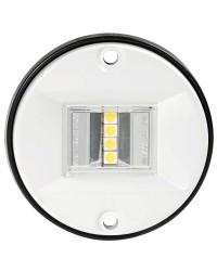 Feu de navigation LED Evoled - pour paroi - noir - blanc 135°