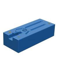 Réservoir carburant essence en polyéthylène réticulé 142L