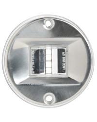 Feu de navigation LED Evoled - pour paroi - inox - blanc 135°