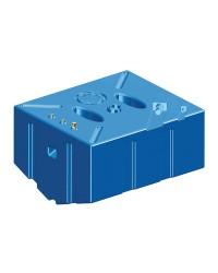 Réservoir carburant ess/diesel en polyéthylène réticulé 353L