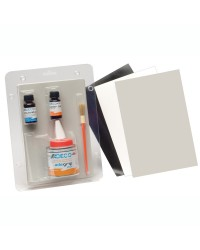 Kit de réparation pneumatique PVC blanc