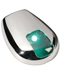Feu de navigation LED Sea-Dog - pour paroi - vert 112,5°