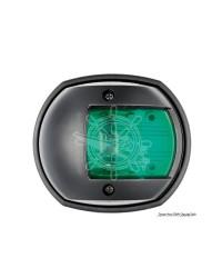 Feu de navigation Compact12 - LED - 112,5° tribord - ABS noir
