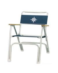 Chaise pliante aluminium modèle BEACH bleu navy
