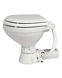 WC électrique - lunette bois laqué blanc 12 V