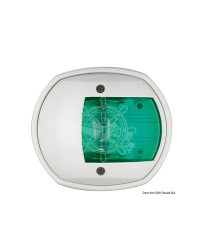 Feu de navigation Compact12 - LED - 112,5° tribord - ABS blanc