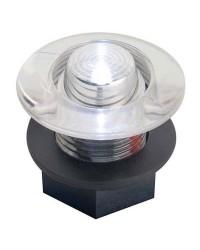 Feu de courtoisie polycarbonate à LED ø38 - 12V - rouge