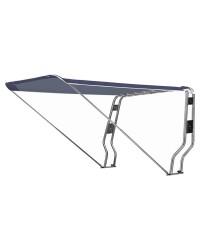 Taud télescopique pour Roll bar - bleu - 215 x 205 cm