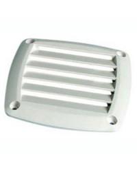 Grille d'aération ABS blanche 125x125 mm