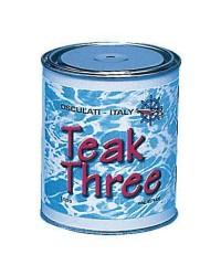 Liquide Teak Three - Pour nourrir le teck et le bois -  Protège des UV - 1 litre