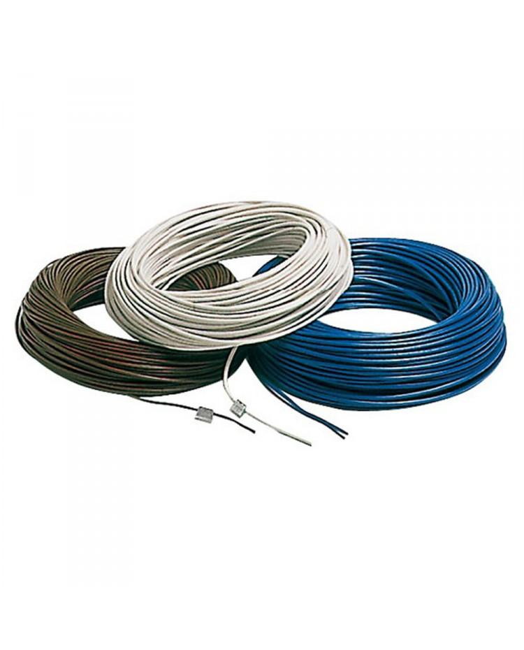 Câble électrique unipolaire - 1.5 mm² noir - le mètre