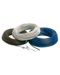Câble électrique unipolaire - 2.5 mm² noir - le mètre