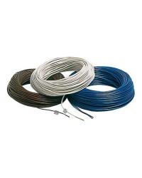 Câble électrique unipolaire - 4 mm² noir - le mètre