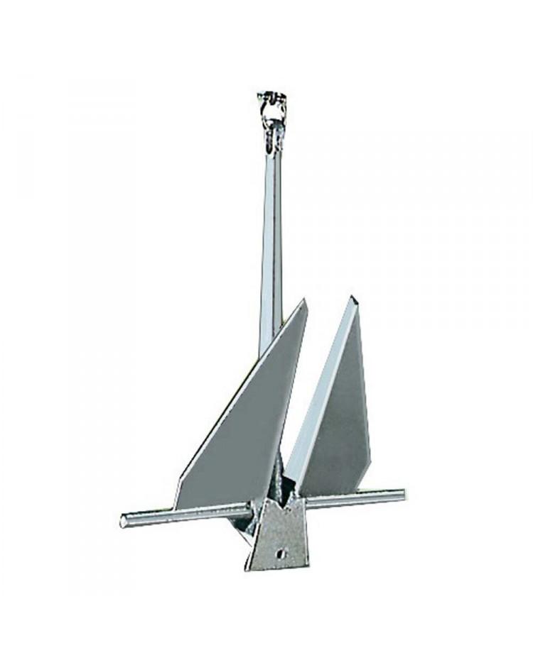 Ancre type Danforth - acier galvanisé - 6 kg