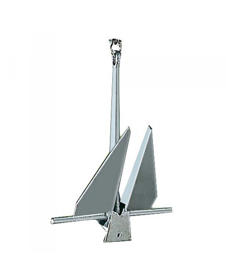 Ancre type Danforth - acier galvanisé - 8 kg
