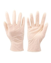Boite de 100 gants jetables - taille 8/8.5 - latex
