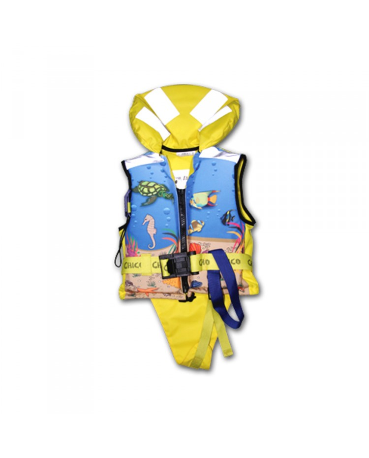 Gilet Chico 150N - ISO 12402-3 - 30 à 40 kg