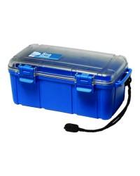 Boite étanche - 132 x 100 x 40 mm - bleue