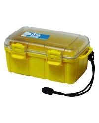 Boite étanche - 132 x 100 x 40 mm - jaune
