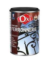 Peinture aspect métal - ferronnerie noir extra mat - 100 ml