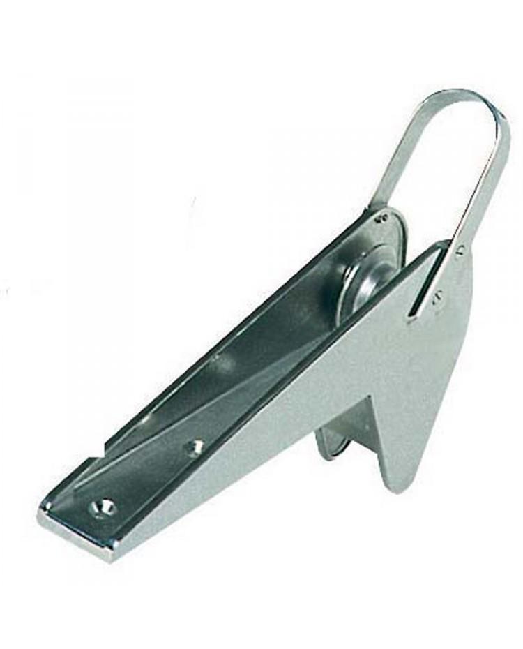 Davier blocage automatique - inox - pour ancre Trefoil de 10 kg