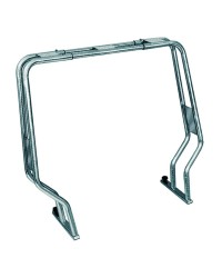 Roll bar pour semi-rigide - tube inox 30 mm - H120 cm - 106 / 156 cm